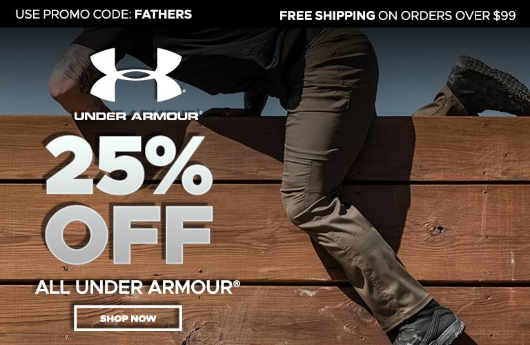 25% Off Under Armour